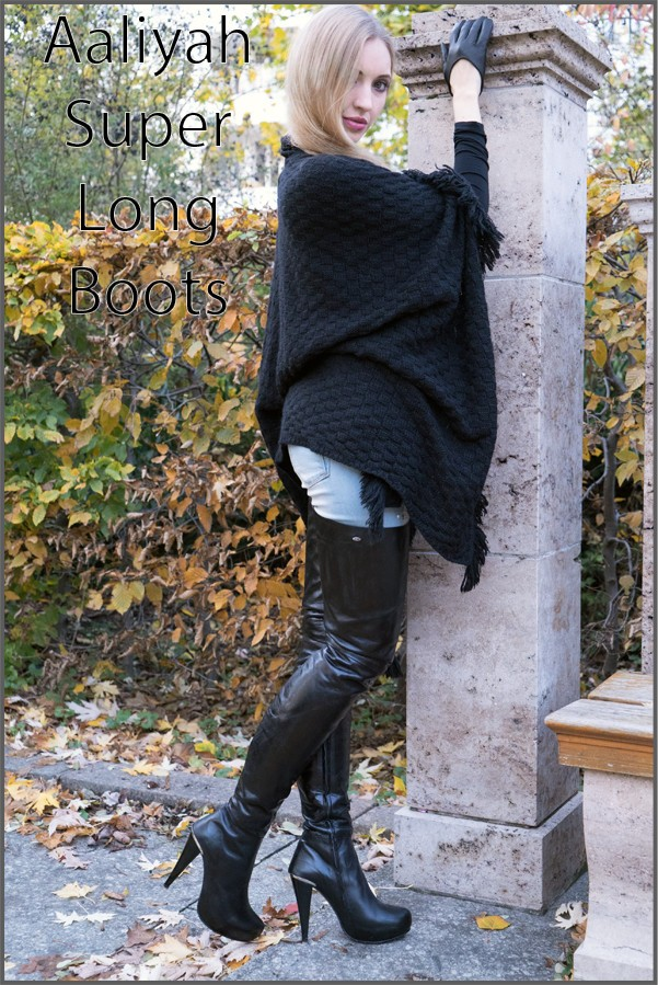 Aaliyah super long Boots