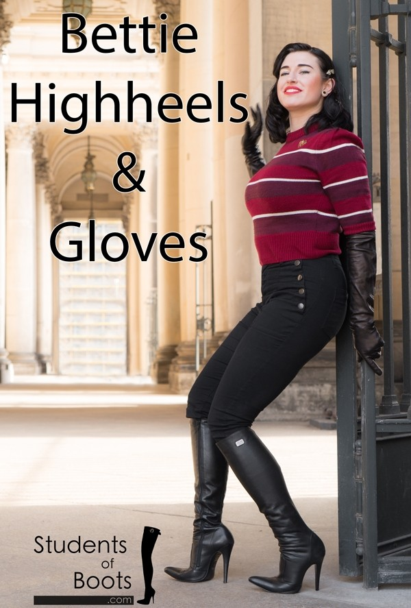 Bettie in Highheels and Gloves