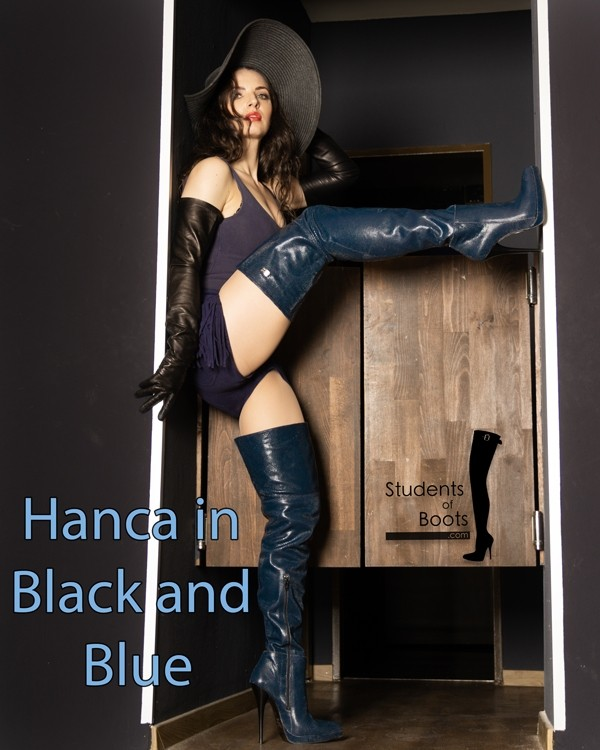 Hanca in Black and Blue