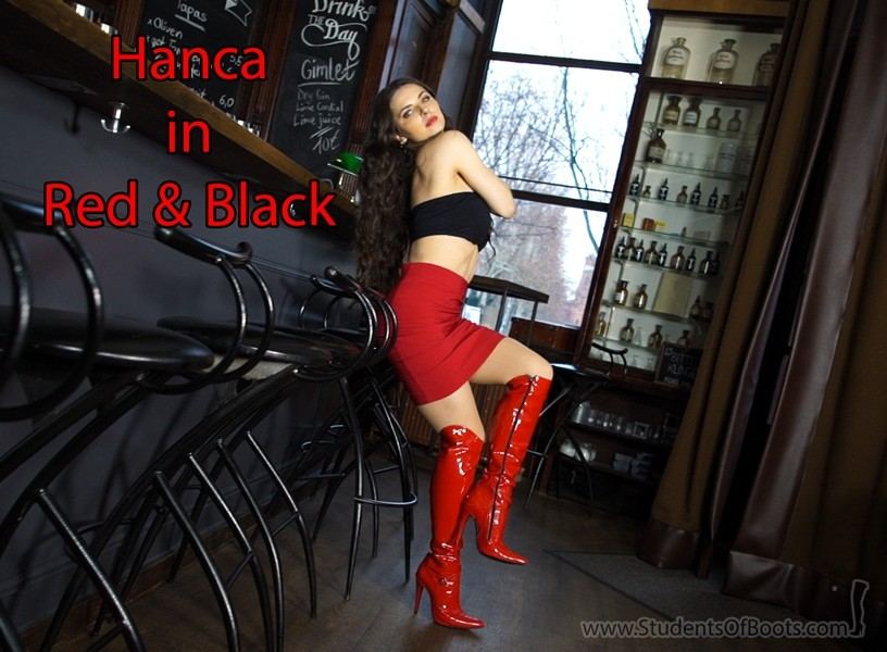 Hanca in Red and Black