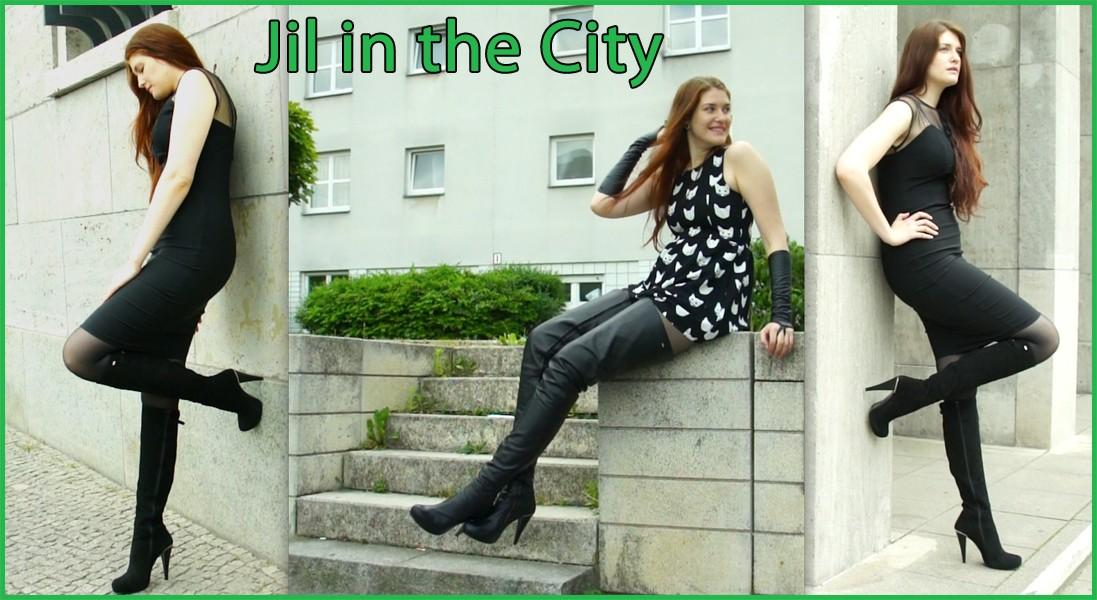 Jil in the city