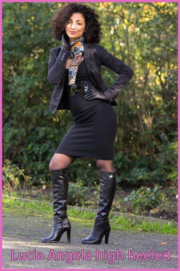 Lucia high heeled