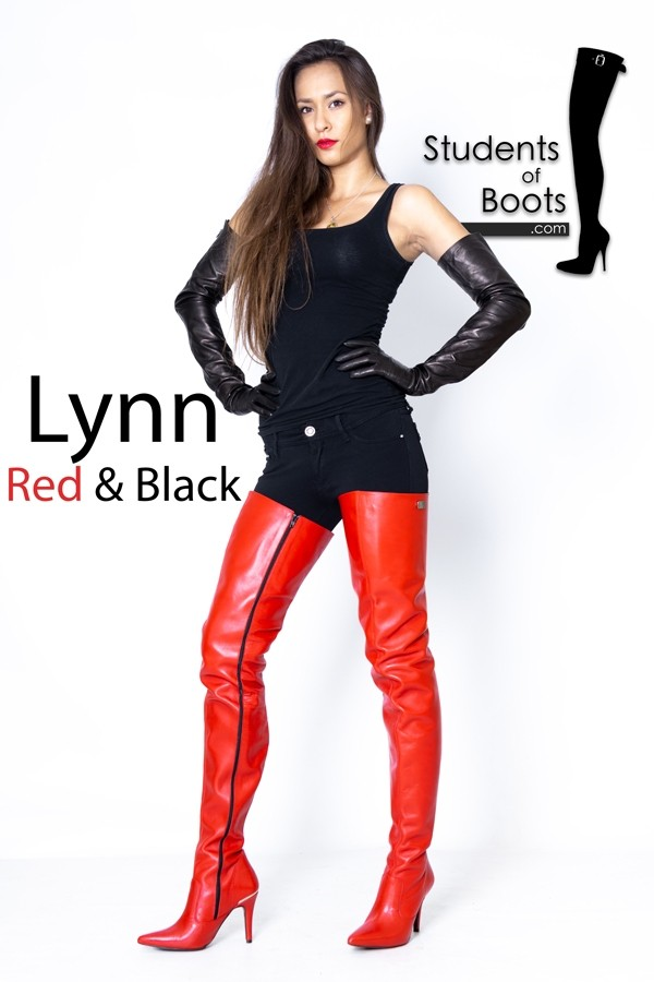 Lynn in Red and Black