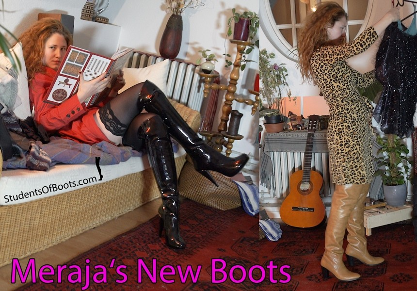 Merajas New Boots