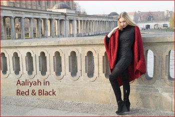 Aaliyah in Red & Black