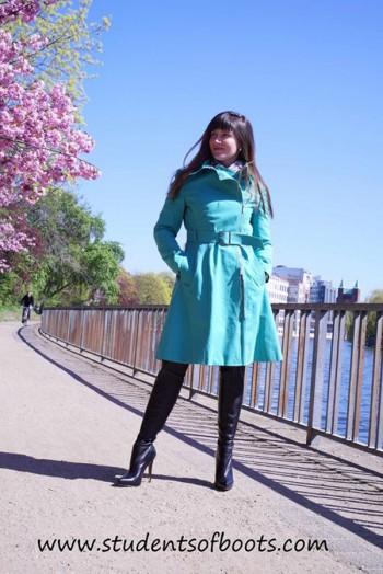 Anna in Anna dello Russo boots