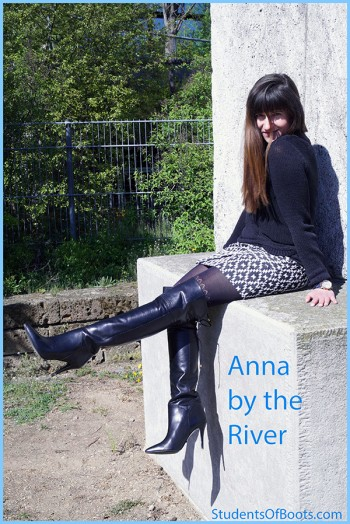 Anna by the river