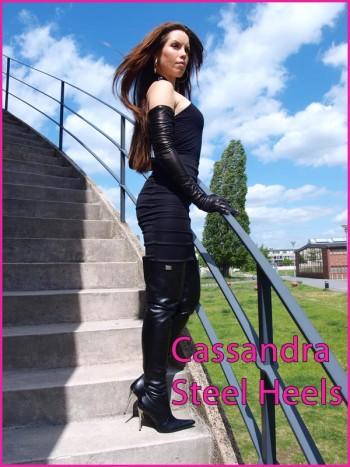 steel heels