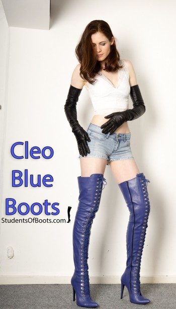 Cleo Blue Boots