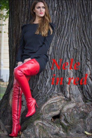 Nele in red