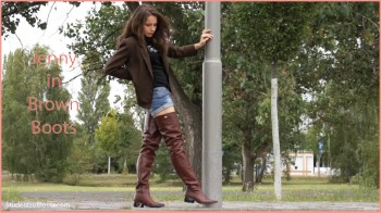 Jenny Brown Boots