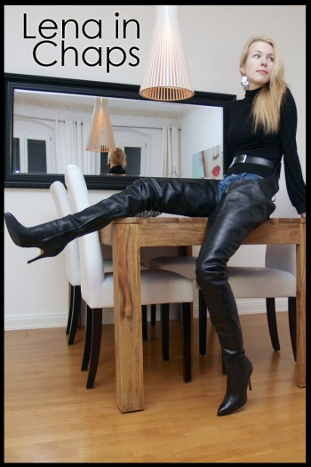 Lena in chaps