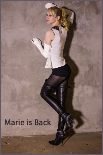 Marie is back