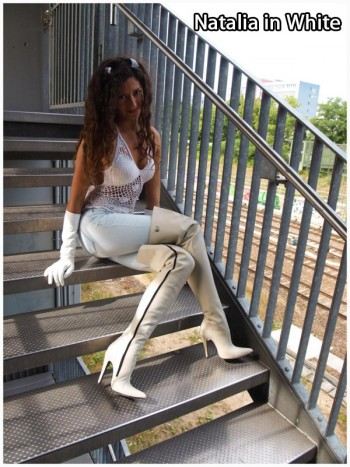Natalia in white
