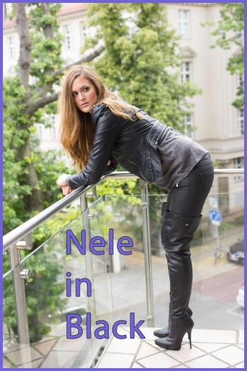 Nele in black