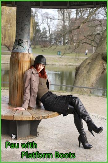 Pau with plateau boots
