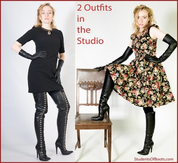 2 Outfits in the Studio