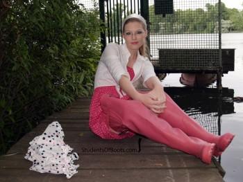 Viola Pink Waders Classic