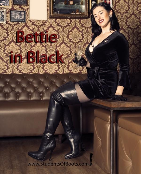 Bettie in Black