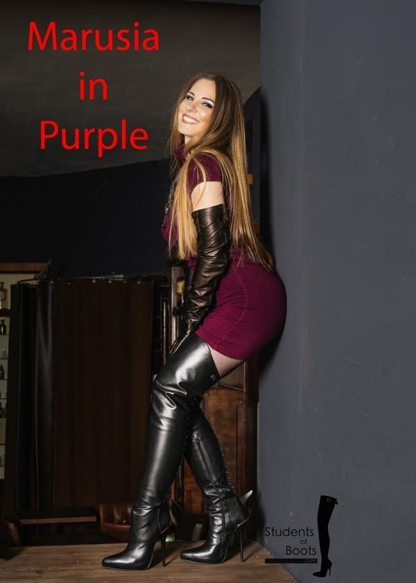 Marusia Purple Dress