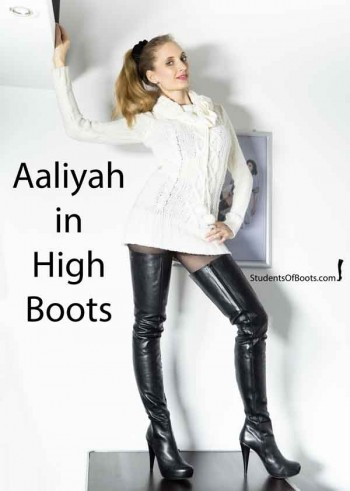 Aaliyah in High Boots