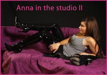 Anna in the studio II