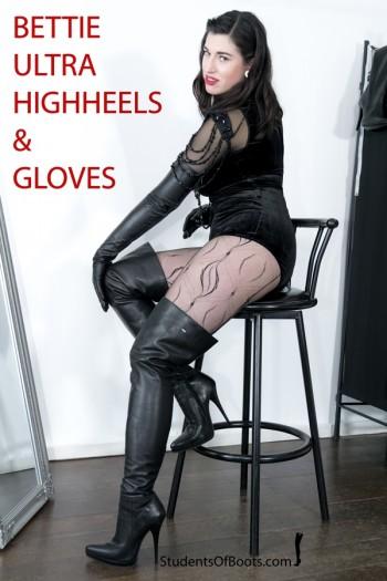 Bettie ultra high heels