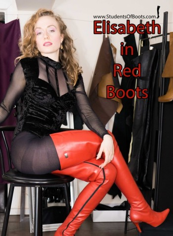 Elisabeth in red Boots