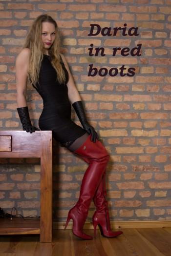 Daria in red