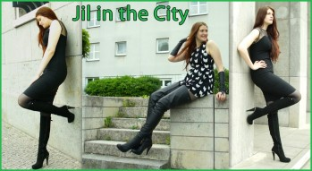 Jil in the city