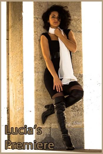 Lucia in overknee boots