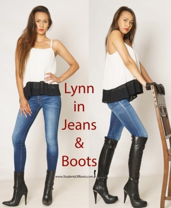 Lynn in Jeans and Boots