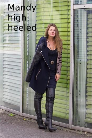 Mandy high heeled