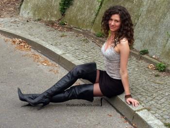 Natalia Classic High Heel Boots