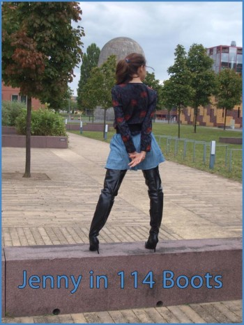 Jenny in 114 boots