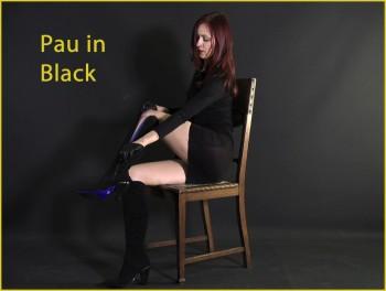 Pau in black