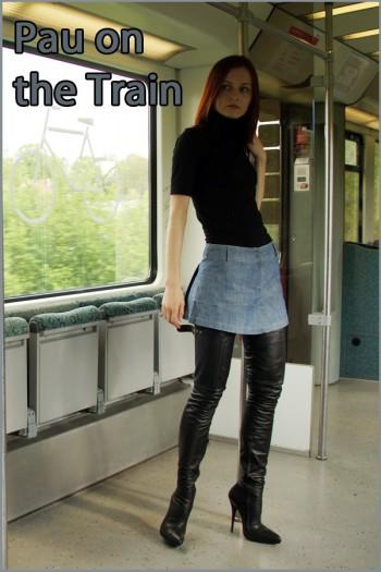 Pau in the train