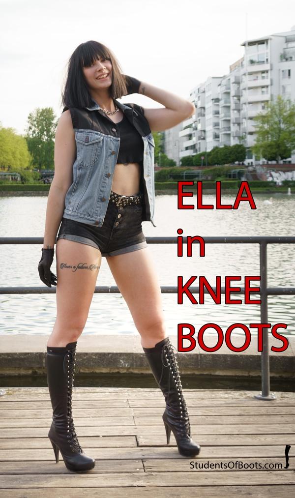 ELLA KNEEBOOTS